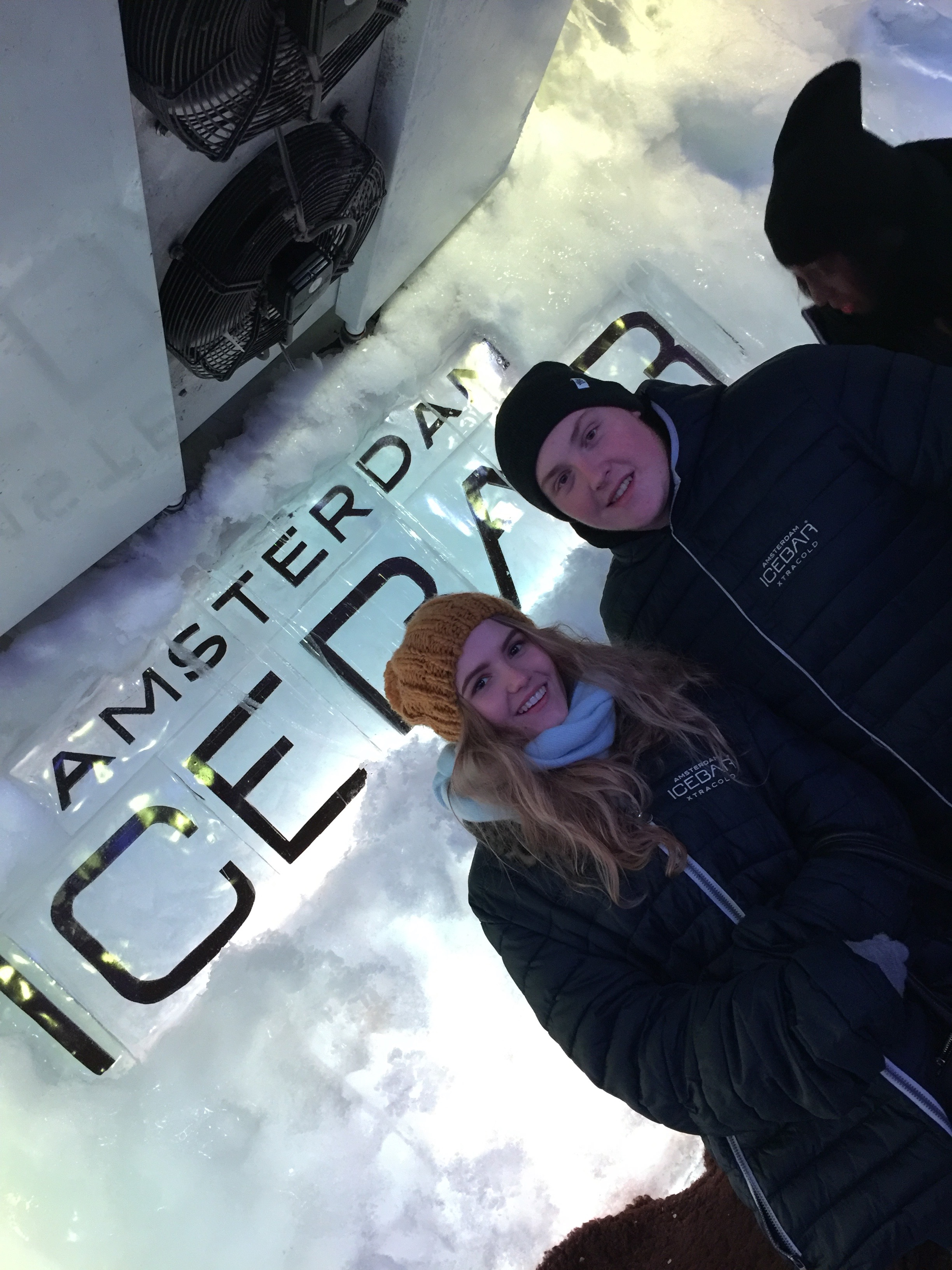 how-to-spend-a-long-weekend-in-amsterdam-couple-in-ice-bar
