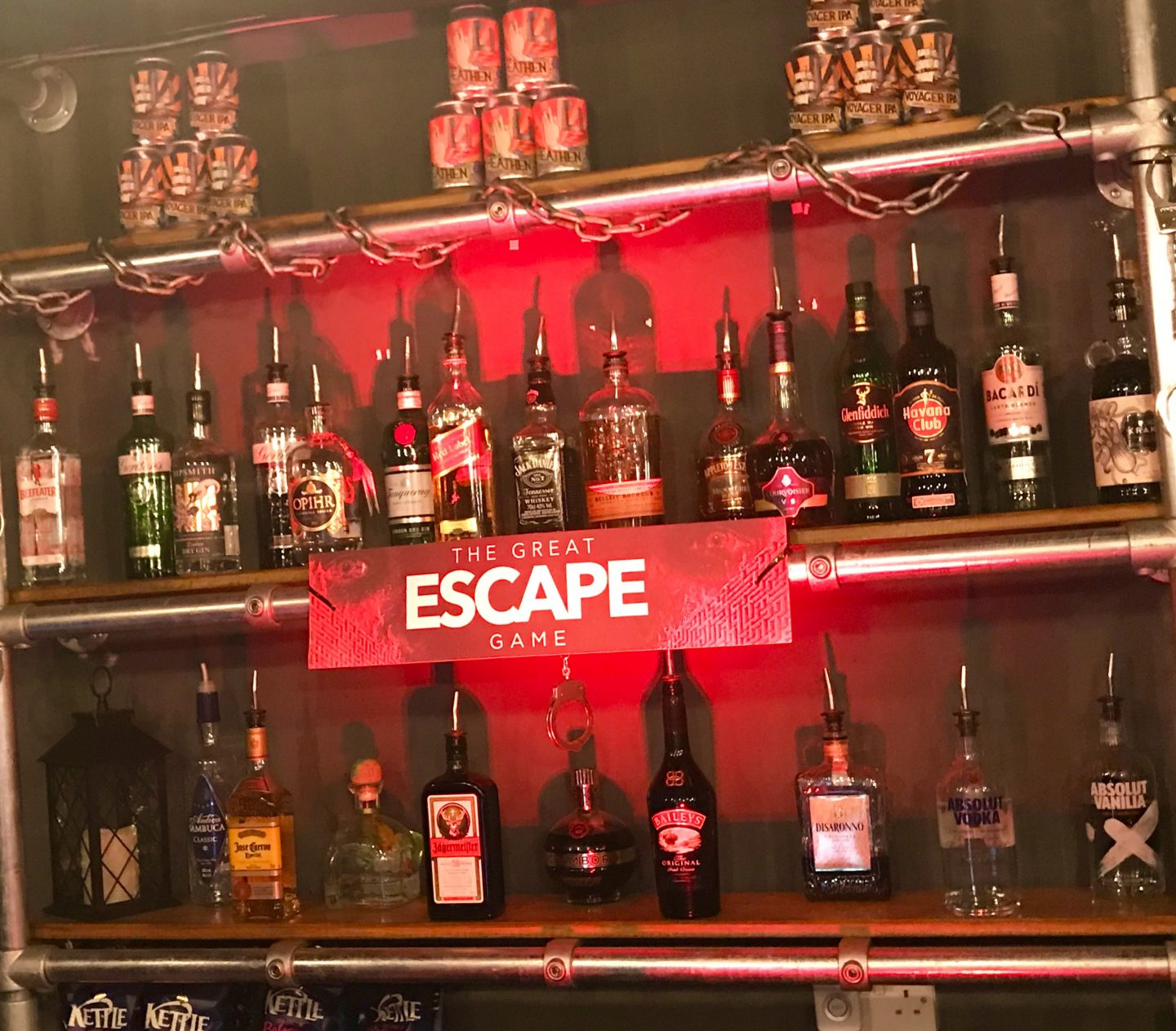 The Great Escape Game Bar