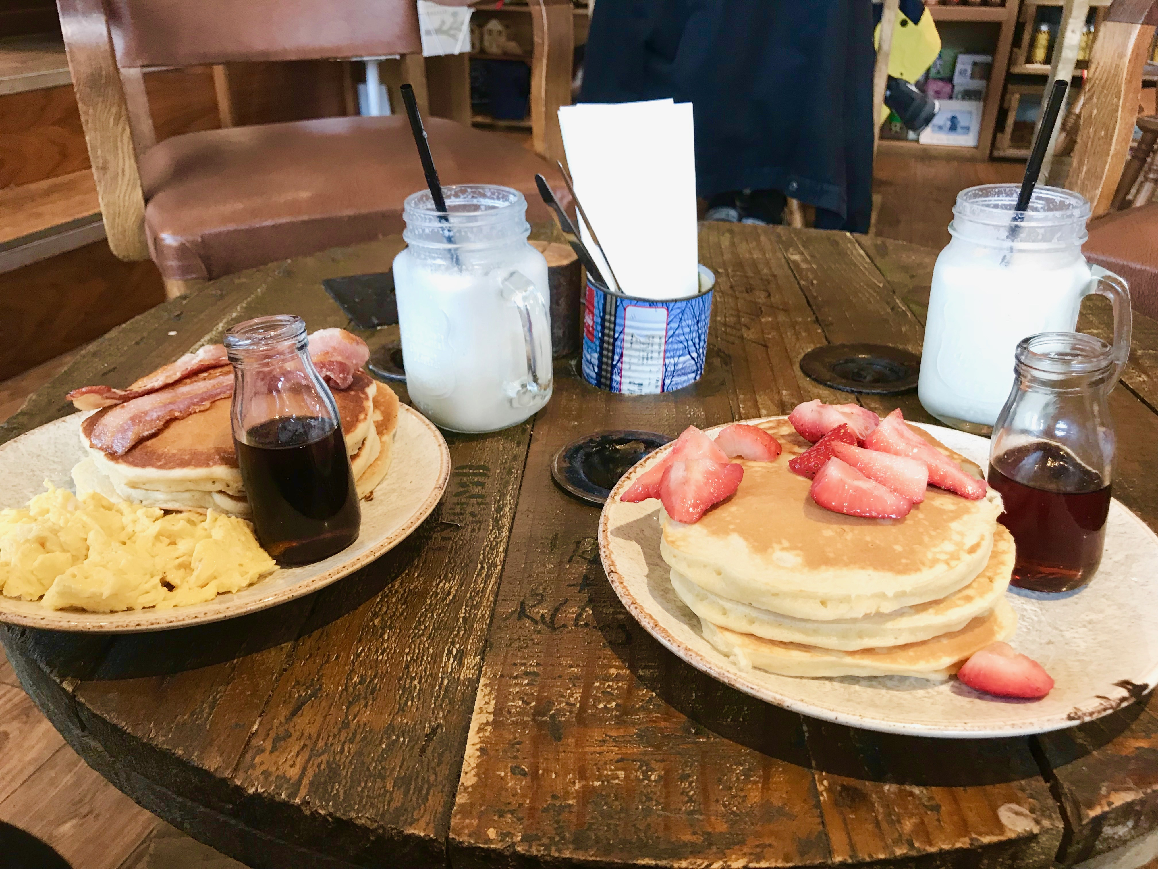 The Cabin pancakes