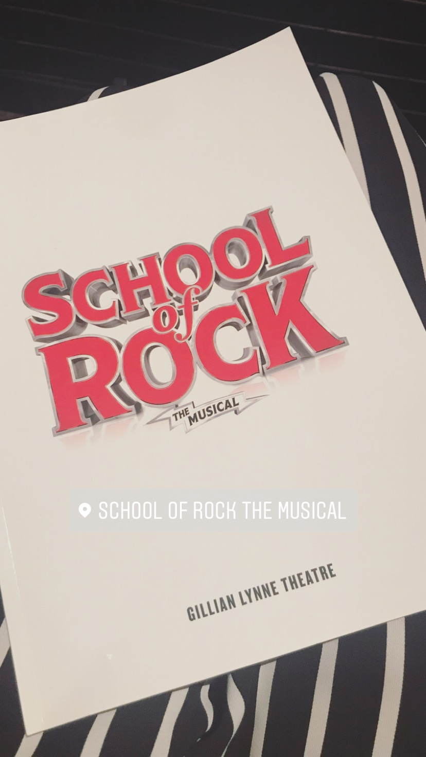The School of Rock Musical wanderingmeg