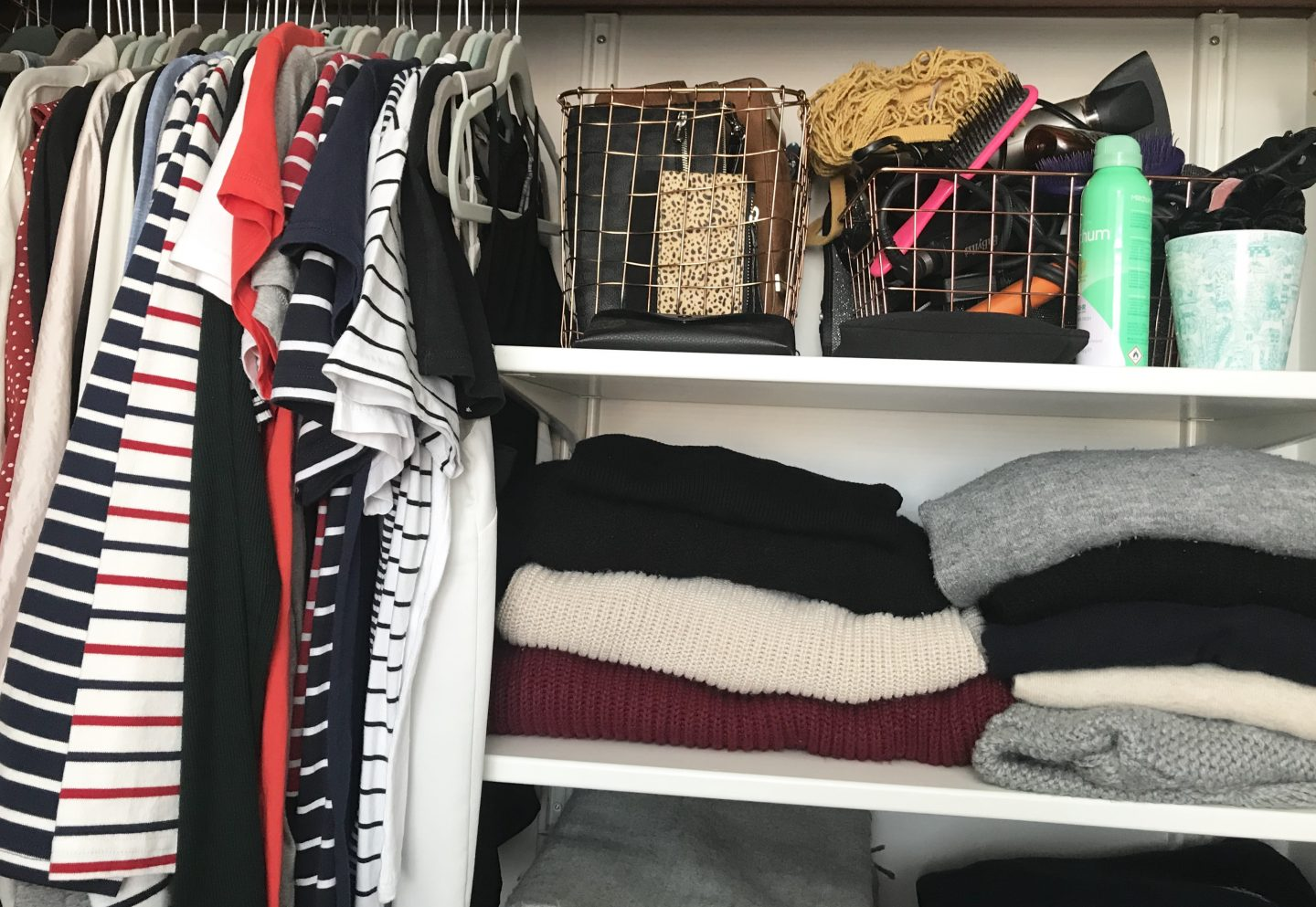 Overview of wardrobe storage