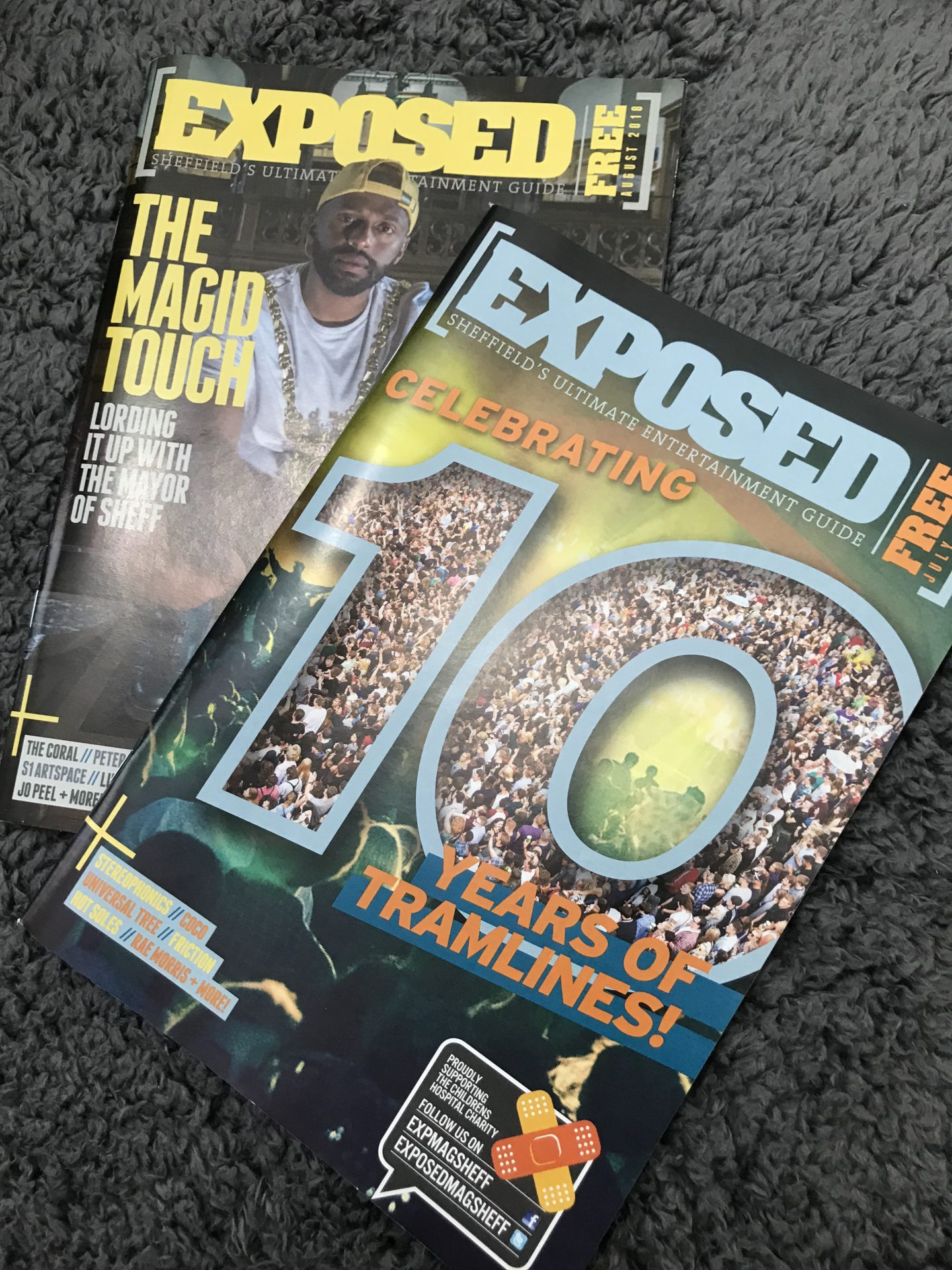 exposed magazine