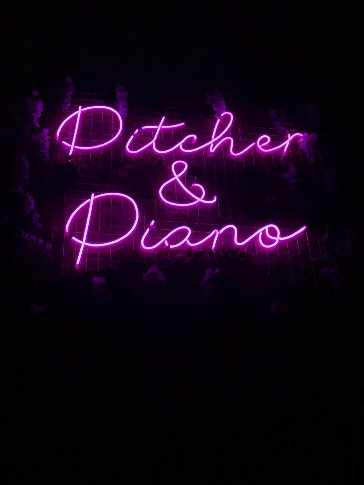 Say Hello to Pitcher & Piano