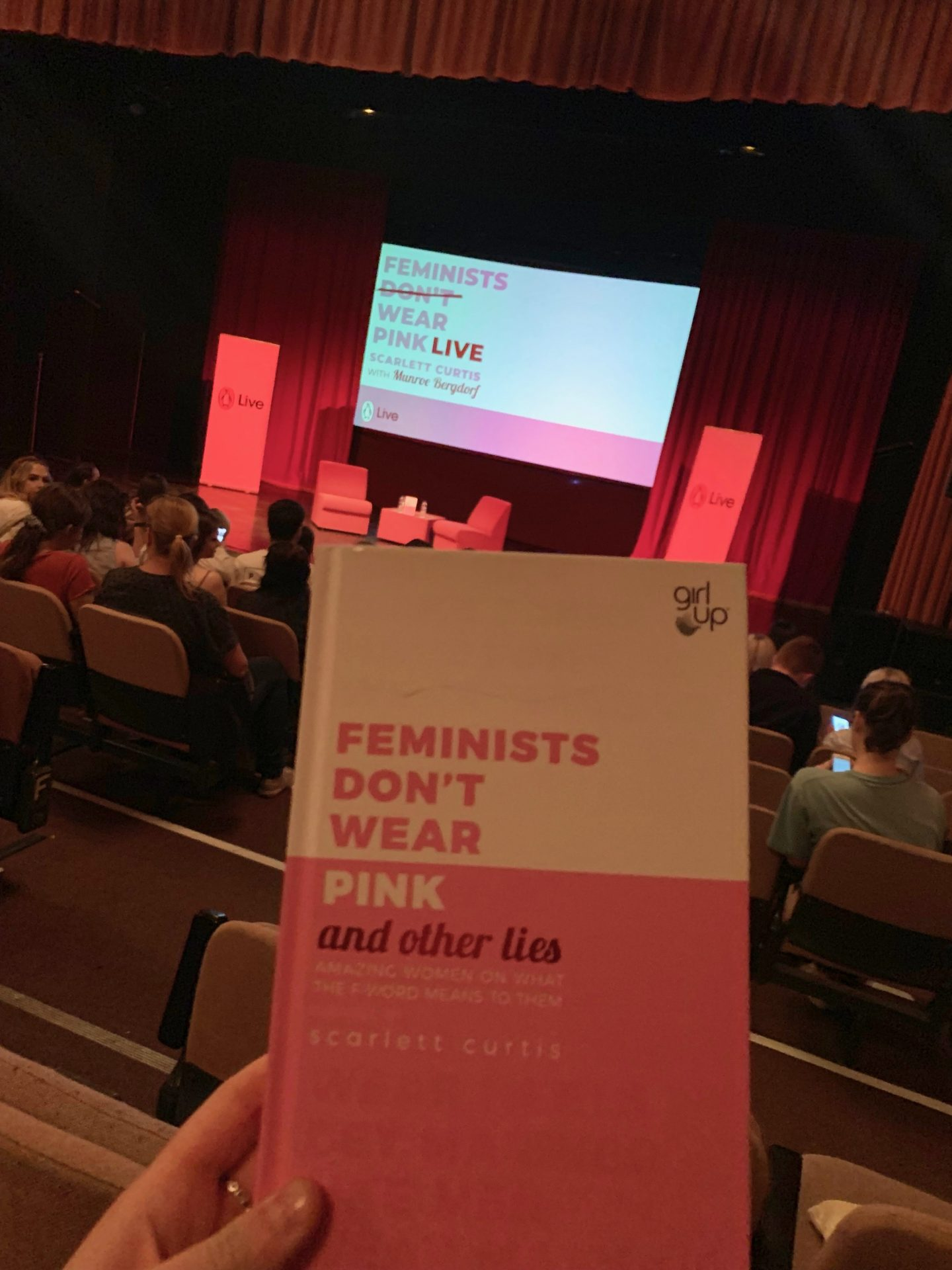Feminists don't wear pink book
