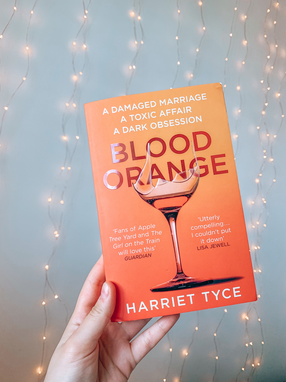 20 Books To Read in 2020 Blood Orange by Harriet Tyce Thriller books Cover