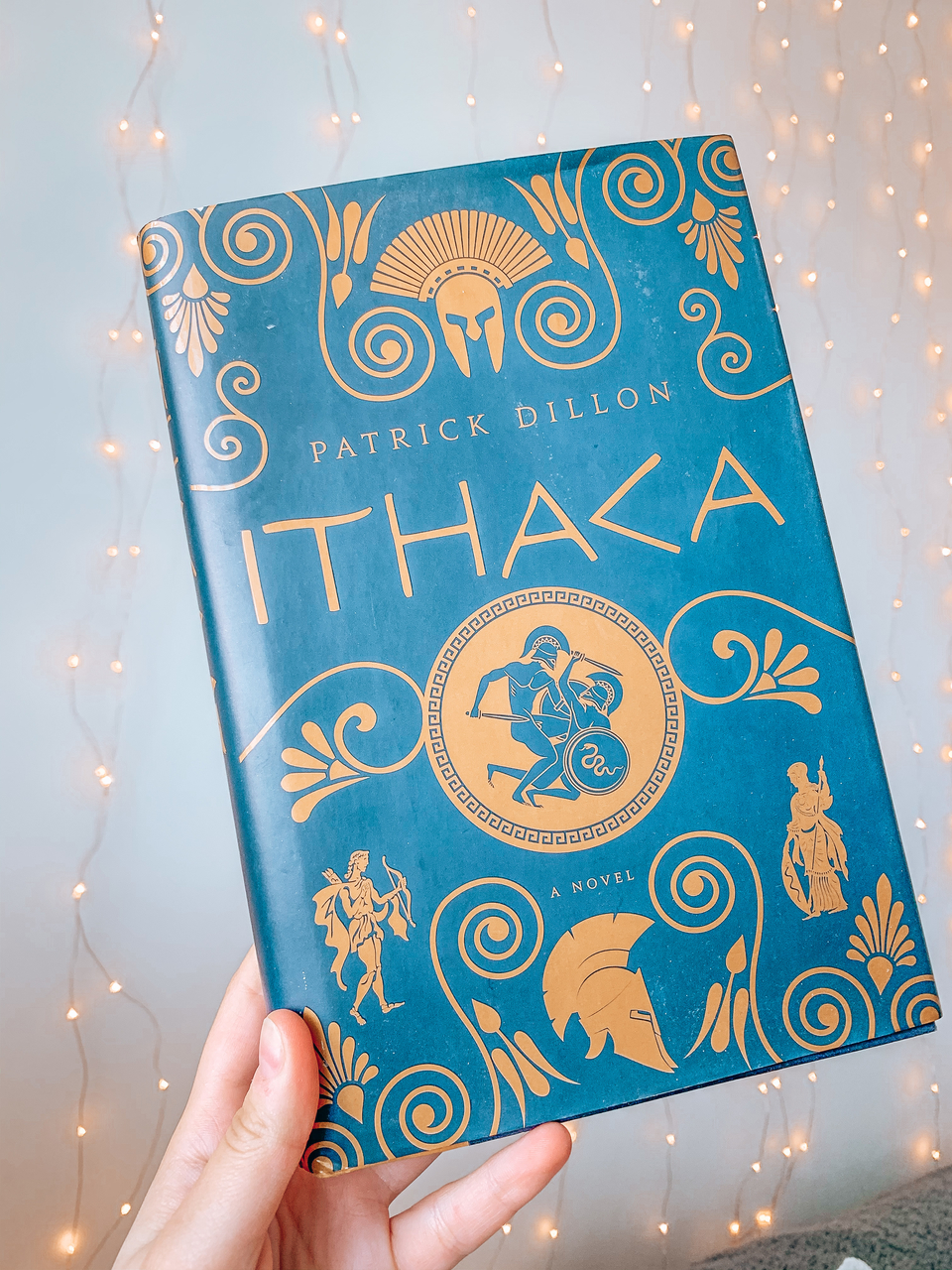Ithaca by Patrick Dillon Greek myth patterned book cover