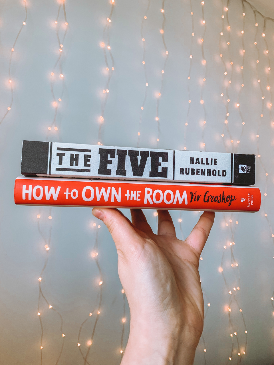 20 books to read in 2020 non fiction The Five by Hallie Rubenhold, How To Own The Room by Viv Groskop