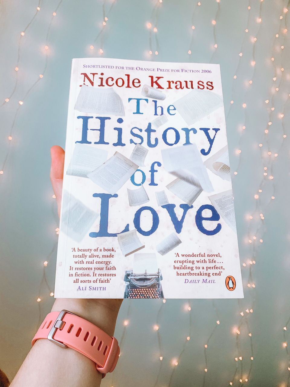 The history of Love by Nicole Krauss book front cover