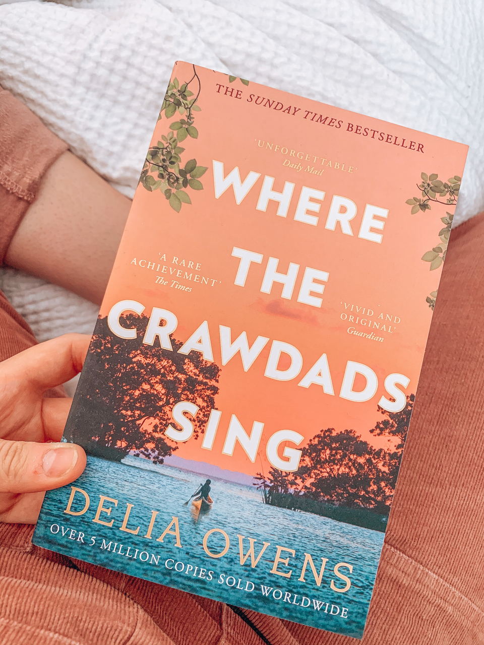 20 Books to read in 2020, Where the Crawdads Sing by Delia Owens pink front cover